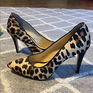 Gianni Bini leopard pumps